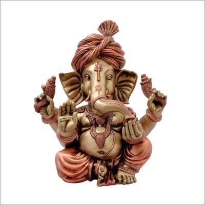 8 Inch Pagadi Ganesha Idol