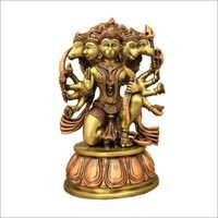 Panchamuga Hanuman Idol
