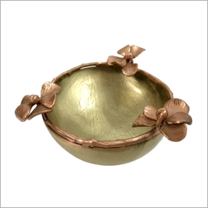 Brass Fancy Flower Bowl