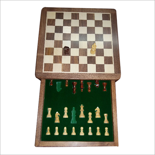 Wood Magnetic Chess