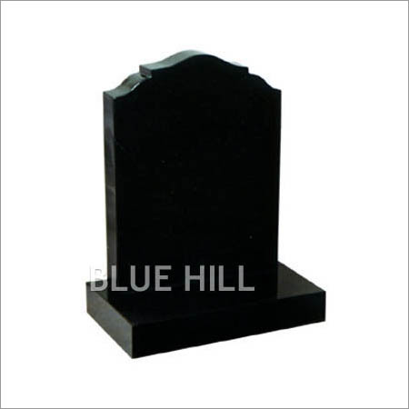 Ogee Top-Check Shoulders Granite Monument