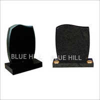 Half Ogee Top-Rounded Sides and Chamfered Granite Monument