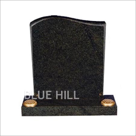 Half Ogee Top-Taper Sides and Chamfered Granite Monument