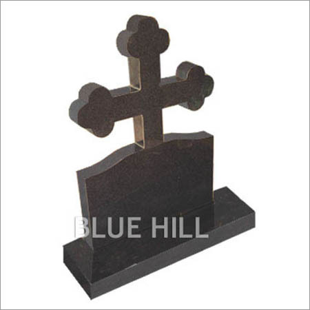 Cross Head Stone Granite Monument