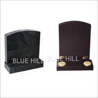 Oval Top Granite Monument