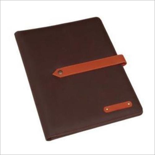 Leather Conference Folder