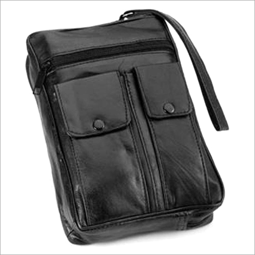 Leather Small Personal Pouch Bag