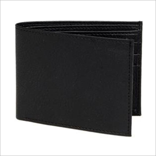 Mens Bi Fold Leather Wallet