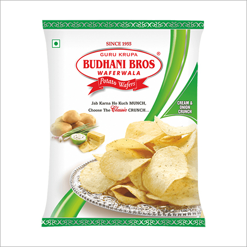 Onion Potato Wafers