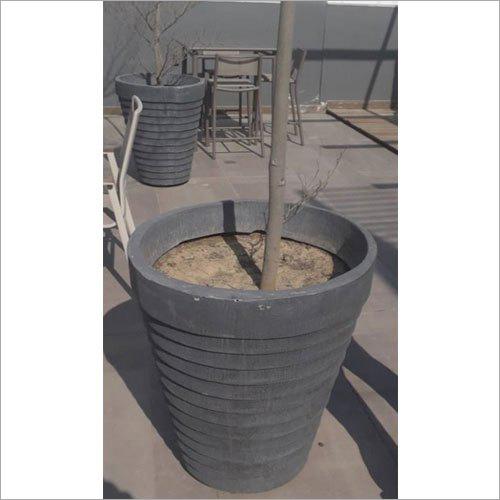 Black FRP Planter