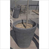 Black FRP Planter