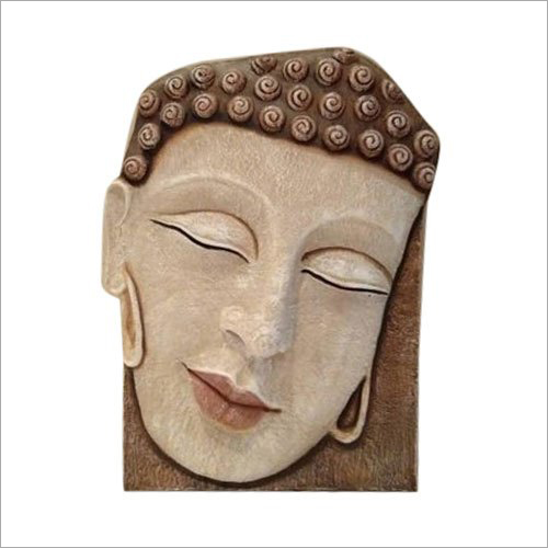 Buddha Head Wall Sculpture