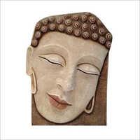 Buddha Head Wall Sculpture