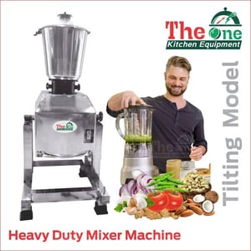 Heavy Duty Mixer (Tilting)