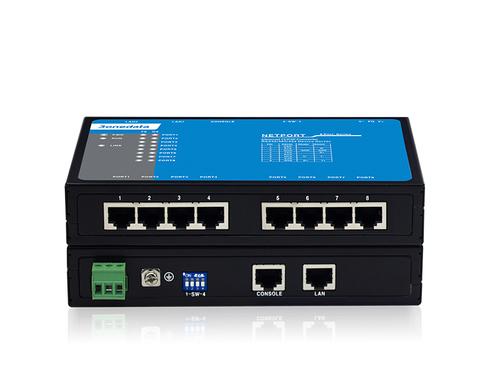 8-port RS-232/485/422 Serial Device Server