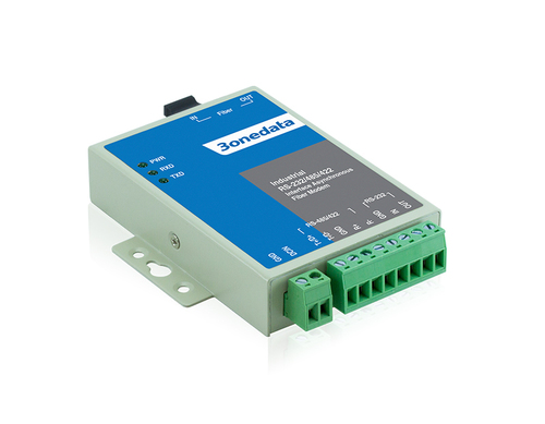 1-port RS-232/485/422 to Fiber Converter