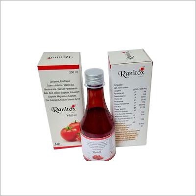 Lycopene multivitamin & multimineral syrup