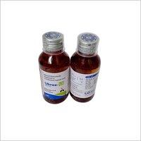 Amboroxol hydrochloride And guaiphenesin & levosalbutamol sulphate