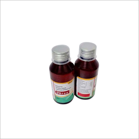 Ambroxol, terbutaline sulphate, Guaiphenesin& menthol syrup