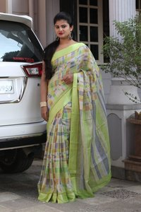 Soft kota cotton saree