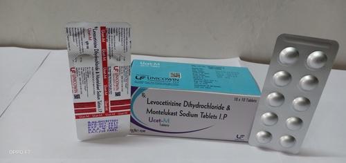 Levocetrizine Dihydrochloride 5mg & Montelukast Sodium 10mg Tablets