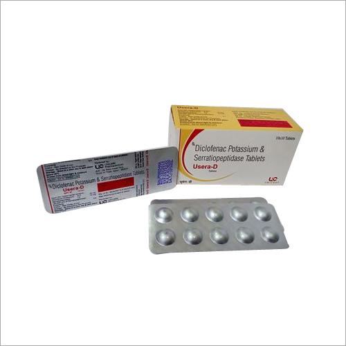 Diclofenac Potassium 50mg & Serratiopeptidase 10mg Tablets