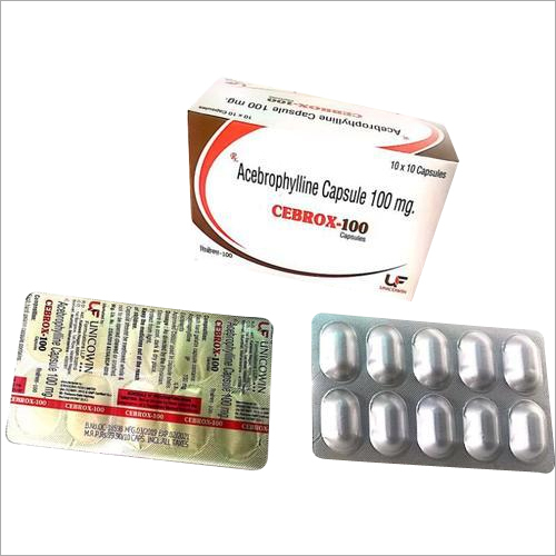 Acebrophylline 100mg Capsules