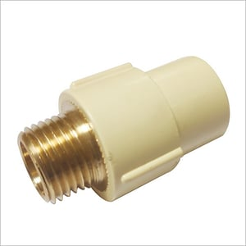 Brass Insert Male Threaded Adapter