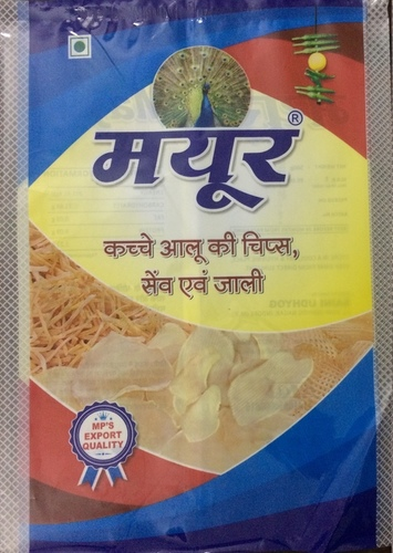 Mayur Brand Dried Raw potato Chips