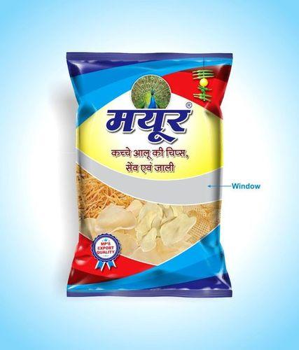 Mayur Brand Dried Raw potato Chips
