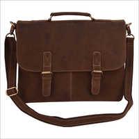 Waterproof Leather Laptop Bag