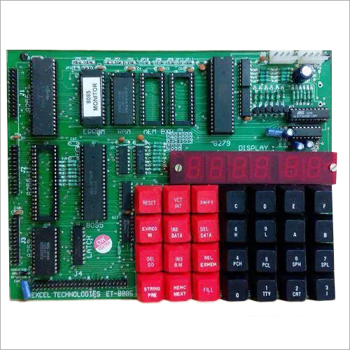 Microprocessor Trainer with Led Display (PTPL-8086LED)