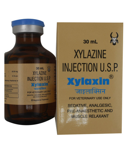 Xylaxin Injection 30ml Xylazine Hydrochloride