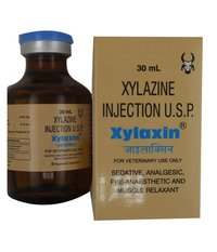 Xylaxin Injection 30ml Xylazine Hydrochloride