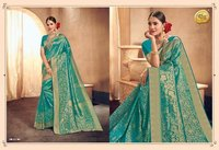 Broket Silk Saree