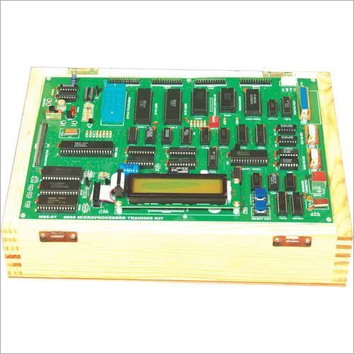 8086 Microprocessor Trainer with LCD/LED Display