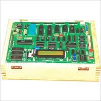 8086/8088 Microprocessor Trainer with LCD Display