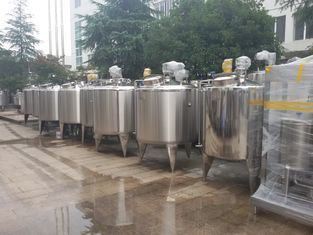 600L Stainless Steel Storage Tanks Three Layer Cooling And Heating Tank
