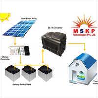 Off Grid PV Solar Power Plant