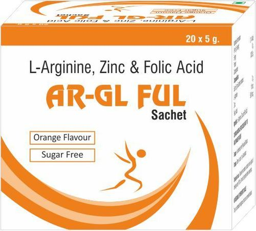 L-Arginine, Zinc &Folic Acid