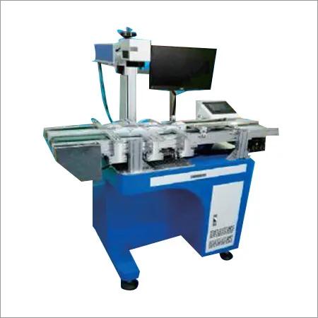Double Line Laser Marking Machine