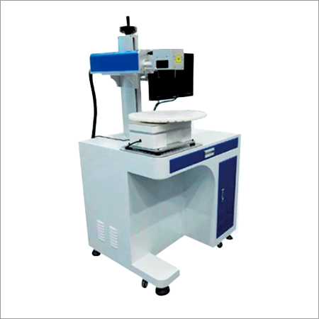 360 Degree Rotating Laser Marking Machine