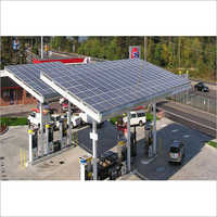 Solar Power Petrol Pump