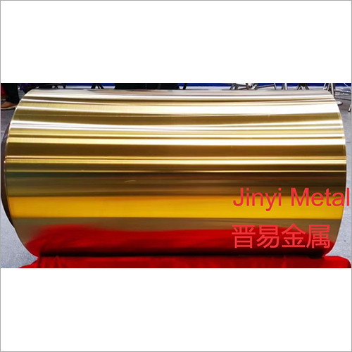 Vacuum Titanium With Plating Titanium Color Stainless Steel Coil
