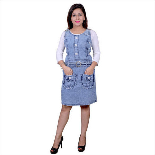 Ladies Casual Denim Top