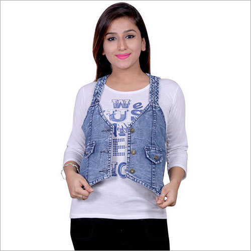 Denim Jacket With Top