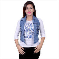 Denim Coti With Inner