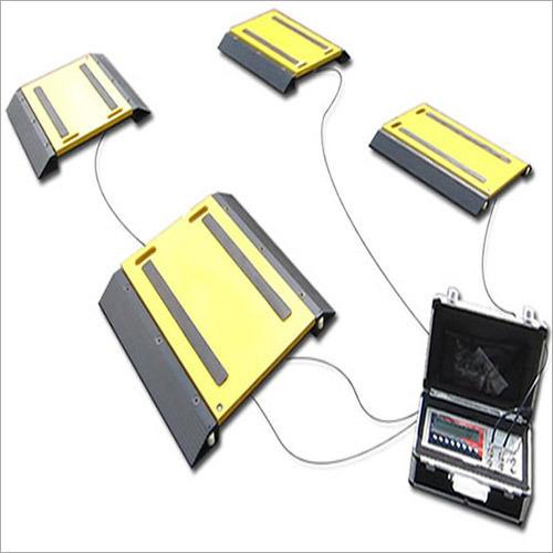 Portable Wheel Weighing Pad