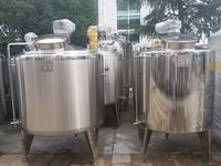 Heating And Cold Stainless Steel Tank Chemical Industry Stainless Steel Mixing Tanks