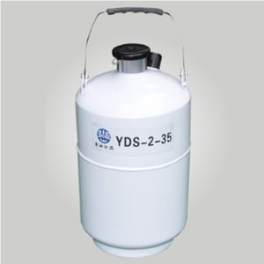 Liquid N2 tank